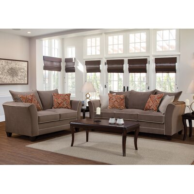 Deschamps Serta Upholstery Living Room Collection