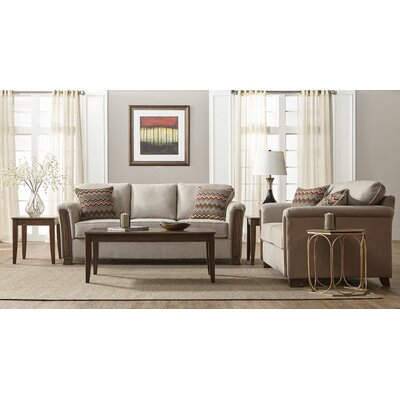 Currahee Upholstery 3 Piece Coffee Table Set