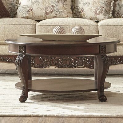 Allmon Upholstery 3 Piece Coffee Table Set