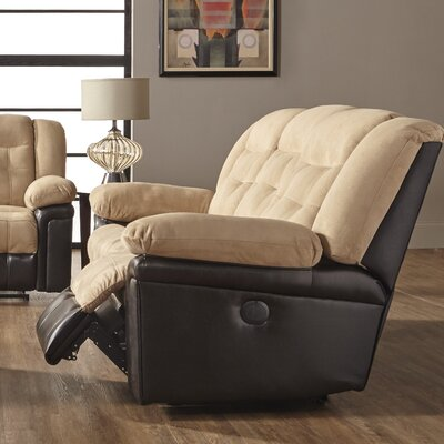 Waddells Leather Manual Wall Hugger Recliner
