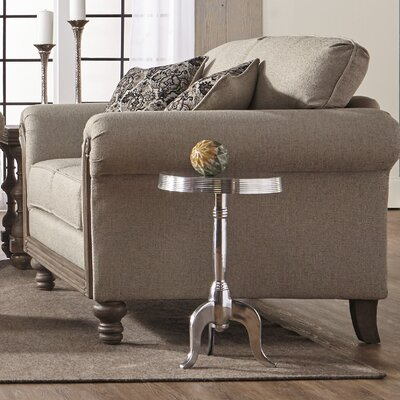 Allmon Loveseat Upholstery: Two Step Almond