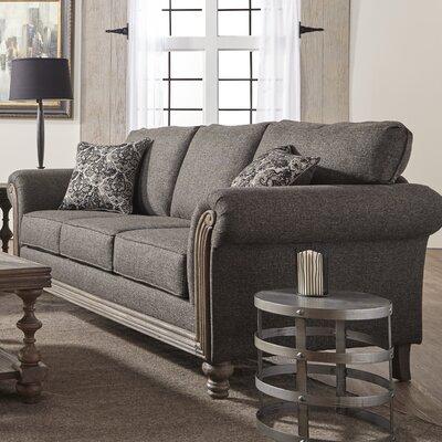 Allmon Upholstery Sofa Upholstery: Element Obsidian