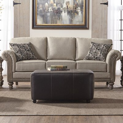 Allmon Sofa Upholstery: Two Step Almond