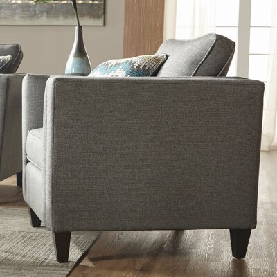 Elan Upholstery Armchair Upholstery: Awesome Gunmetal