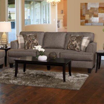 Agnes Upholstery Sofa Upholstery: Rockaway Granite