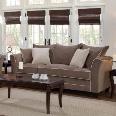Agnes Upholstery Sofa Upholstery: Bing Ash