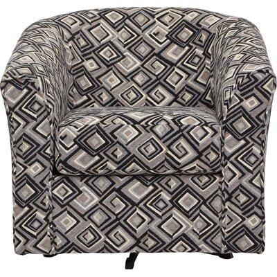 Serta Upholstery Swivel Chair Upholstery: Classy Alloy