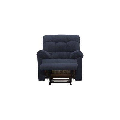 Serta Rocker Recliner Upholstery: Rio Blue Slate