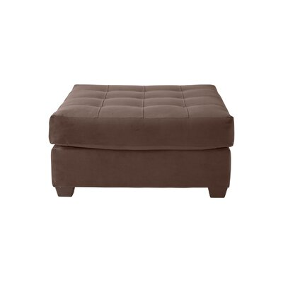 Zehner Ottoman Upholstery: Bing Chocolate