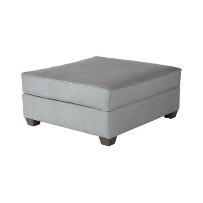 Thacker Cocktail Ottoman Upholstery: Beamer Denim Fog