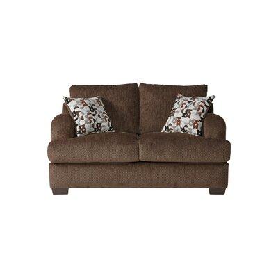 Handler Loveseat Upholstery: Bronco Sable/Brown