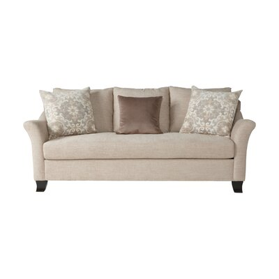 Alvah Sofa Upholstery: Lilou Almond