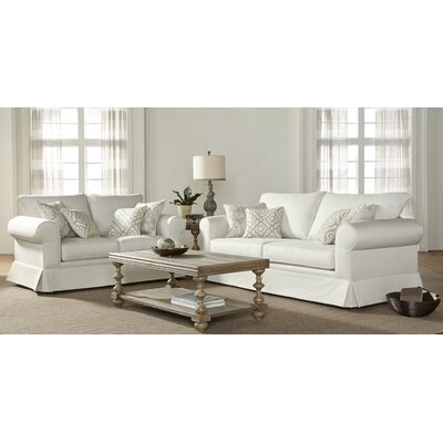 Alverta 2 Piece Configurable Living Room Set