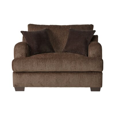 Handler Chair and a Half Upholstery: Bronco Sable/Coffee