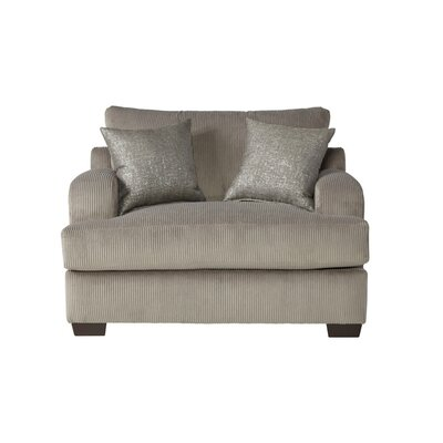Handler Chair and a Half Upholstery: Rio Dove