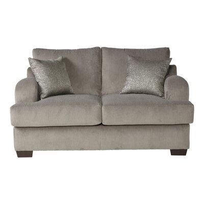 Handler Loveseat Upholstery: Rio Dove