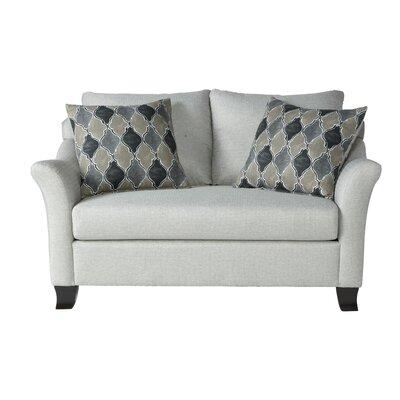 Alvah Loveseat Upholstery: Sonoma Silver