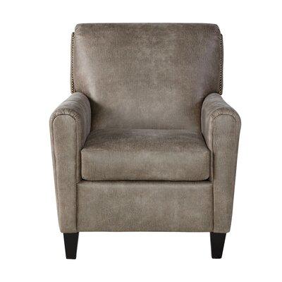 Hammitt Armchair Upholstery: Goliath Mica, Size: 40 H x 31 W x 40 D