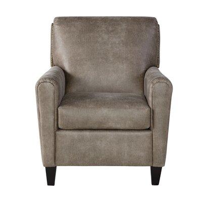 Hammitt Armchair Upholstery: Mascot Mocha, Size: 39 H x 31 W x 39 D
