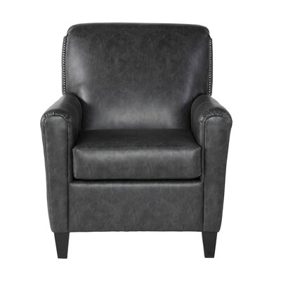 Oakmont Armchair Upholstery: Trotter Charcoal