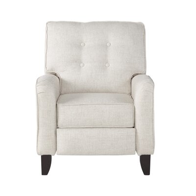 Zeiger Manual Recliner Upholstery: Mascot Ivory