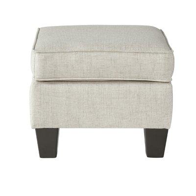 Hammons Ottoman Upholstery: Mascot Ivory