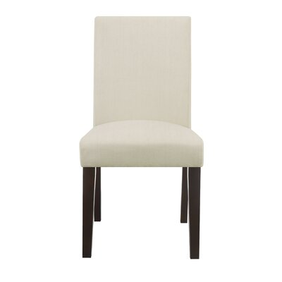 Liam Upholstered Dining Chair Color: Brooklyn Cream