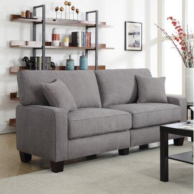 Serta� RTA Palisades Sofa Upholstery: Glacial Gray