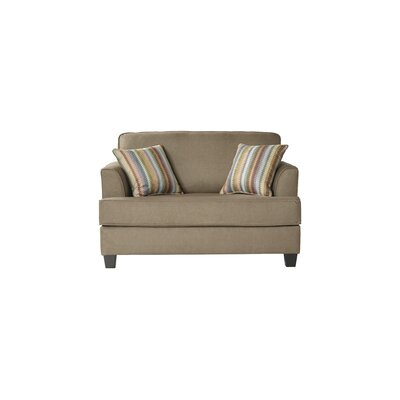 Perlman Sleeper Sofa Upholstery: Denim Khaki
