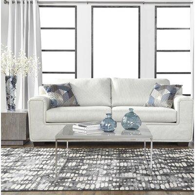 Longoria Eclispe Sofa Upholstery: White