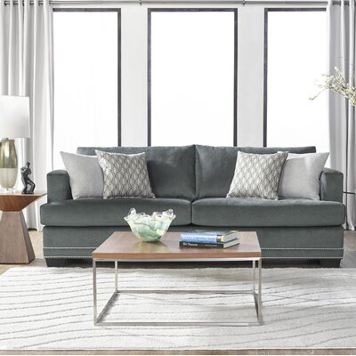 Heslin Sofa Upholstery: Gray