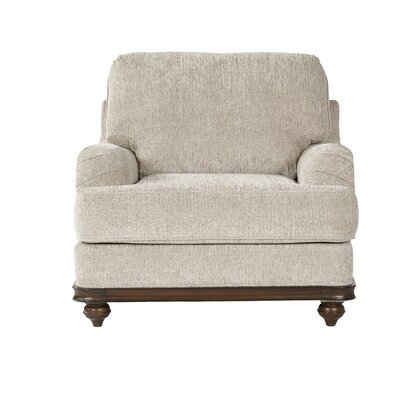 Hovis Club Chair Upholstery: Light Almond