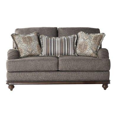 Hovis Loveseat Upholstery: Light Brown