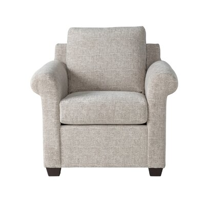Easter Compton Armchair Upholstery: White