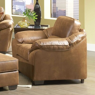 Armchair Upholstery Type: Laramie Tanner