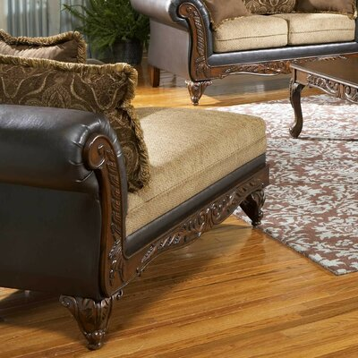 Chaise Lounge Leather: San Marino Chocolate