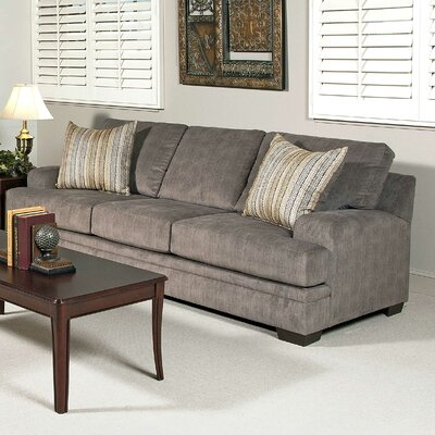 Vermont Sofa Upholstery: Smoothie Gray / Wagelength Desert