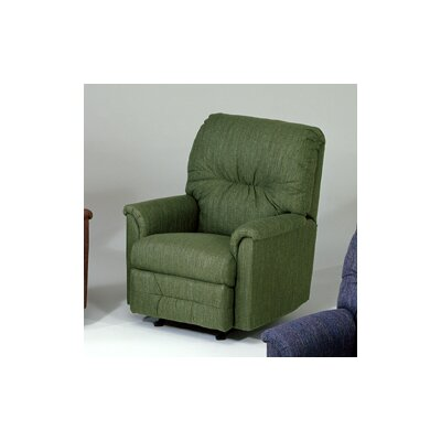 Reo Manual Rocker Recliner Upholstery: Radar Green
