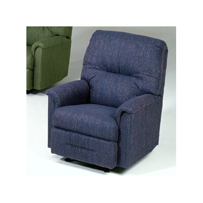 Reo Rocker Recliner Upholstery: Radar Blue