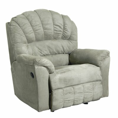 Rocker Recliner V Upholstery: Padded Saddle