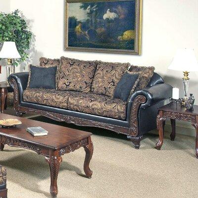 Sofa Upholstery: San Marino Ebony / Silas Ebony / Sienna Ebony