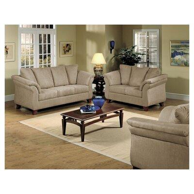 Sofa Upholstery: Sienna Mocha