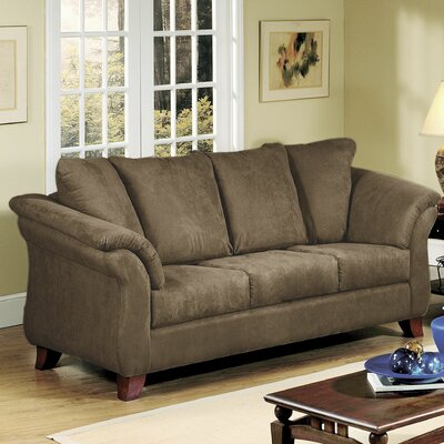 Sofa Upholstery: Sienna Chocolate