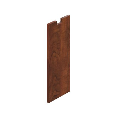 28 H x 12 W Desk Privacy Panel Finish: American Dark Cherry