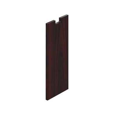 28 H x 12 W Desk Privacy Panel Finish: American Mahogany Laminate