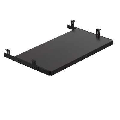 1 H x 23.5 W Desk Keyboard Tray Finish: American Espresso
