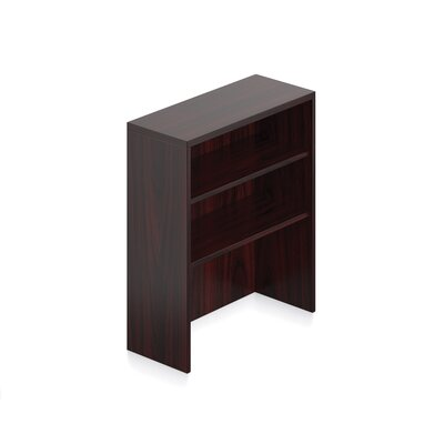 36 H x 36 W Desk Hutch Finish: American Mahogany Laminate