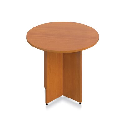 Luminary Series Circular Conference Table Finish: American Cherry Laminate, Size: 29.5 H x 36 W x 36 D