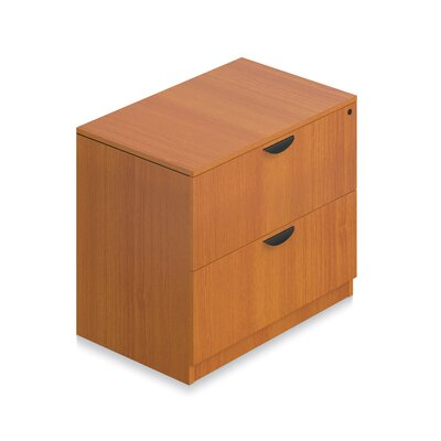 29.5 H x 36 W Desk File Pedestal Finish: American Cherry