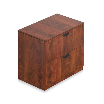 29.5 H x 36 W Desk File Pedestal Finish: American Dark Cherry
